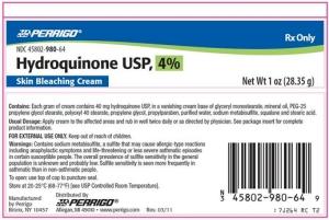Hydroquinone Dangers